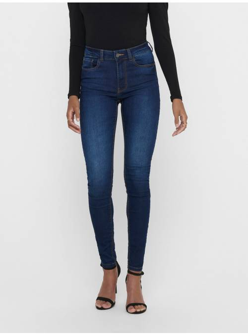 JEANS FEM WOV CO68/PL30/EA2 - BLUE -
