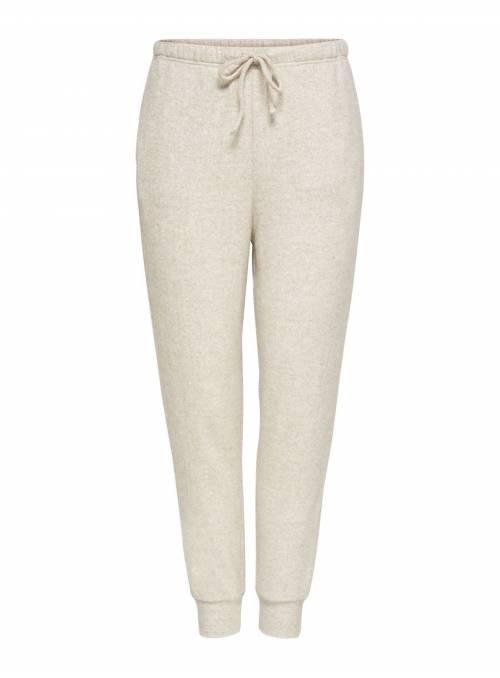 PANTS FEM KNIT PL63/VI30/EA7 - WHITE -