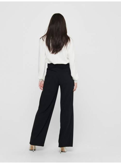 PANTS FEM KNIT PL95/EA5 - BLACK - BLACK
