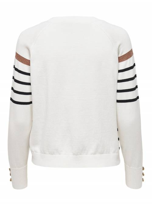 JERSEY AMELIE MARINERO BLANCO ONLY
