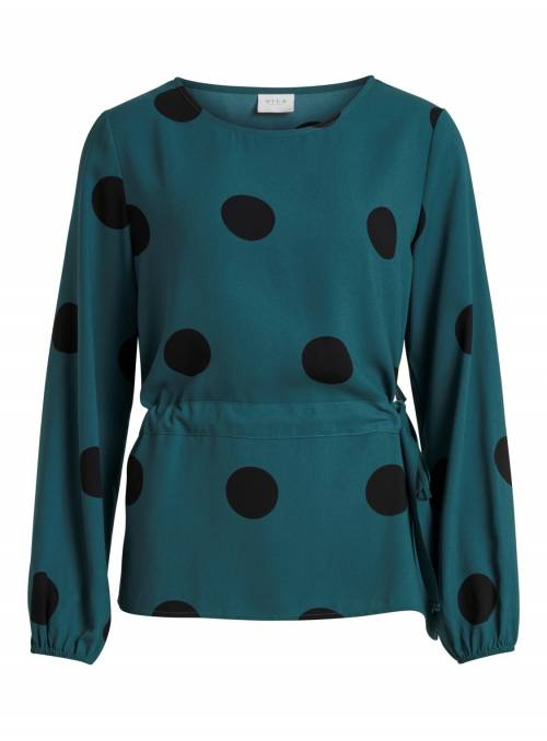 BLOUSE BAYBERRY DOTS