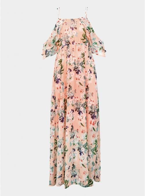 Vestido largo Flores .