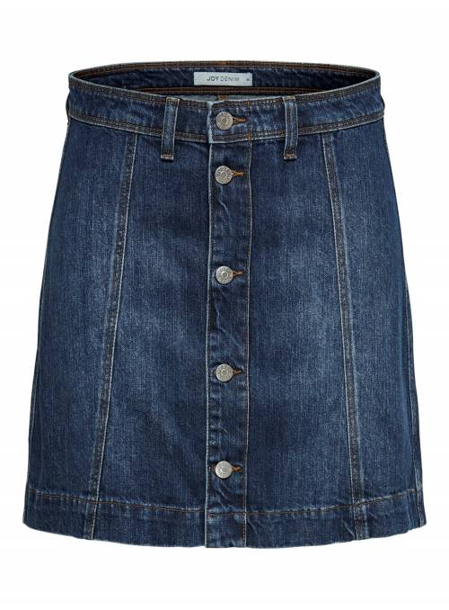 SKIRT FEM WOV CO100 - BLUE -