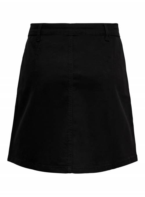 SKIRT FEM WOV CO98/EA2 - BLACK -