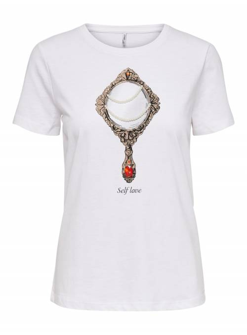 T-SHIRT WHITE - MIRROR
