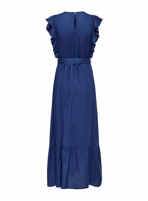 MAXI DRESS - BLUE - INDIGO