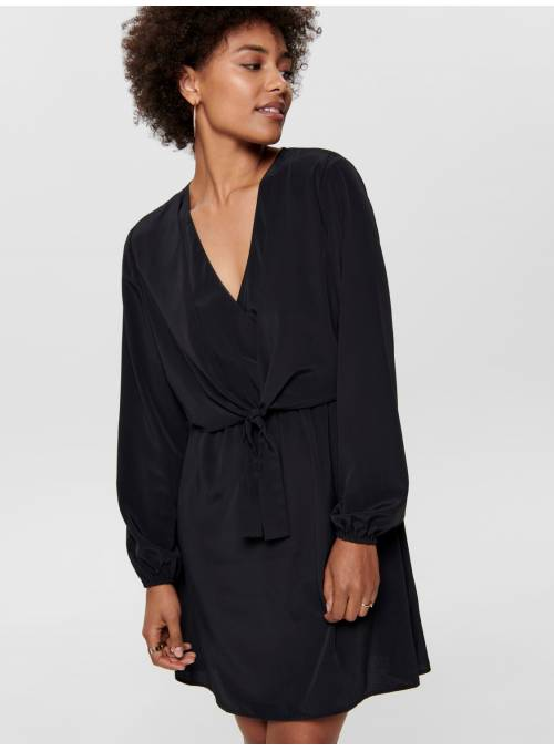 DRESS NUDO- BLACK -