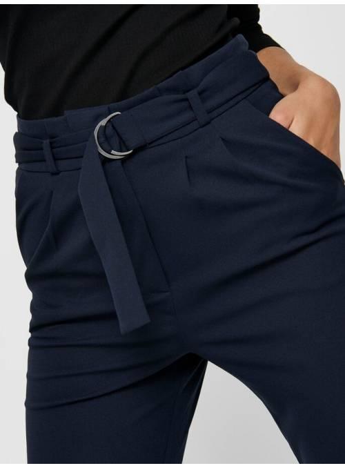 PANTS FEM KNIT PL95/EA5 - BLUE - BLACK D