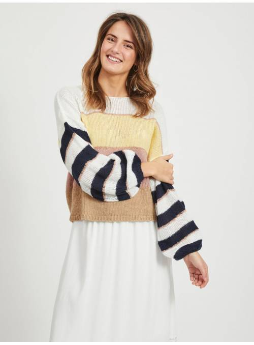 PULLOVER KNIT - YELLOW