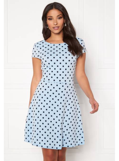 DRESS - BLUE - CANDY DOT