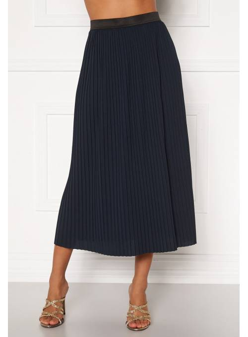 SKIRT FEM KNIT PL100 - BLUE - BLACK ELAS