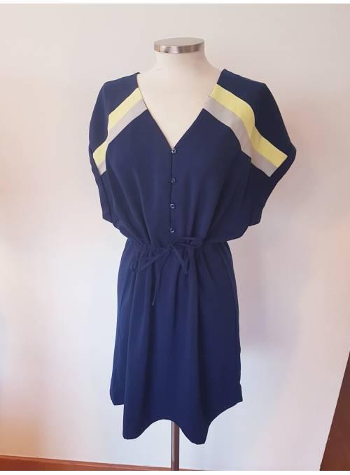 DRESS - BLUE -