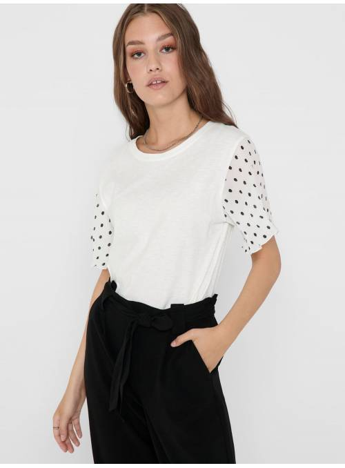 TOP WHITE - DOT