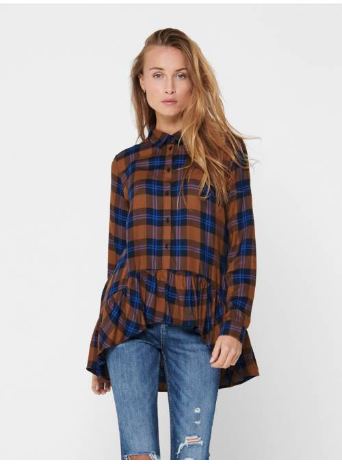 SHIRT - WITH SLEEVES F - BROWN